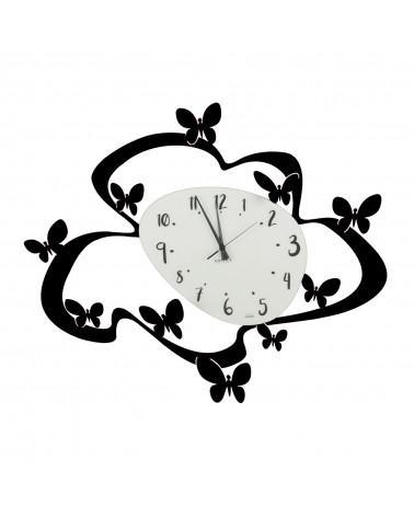 orologio farfalle colore nero