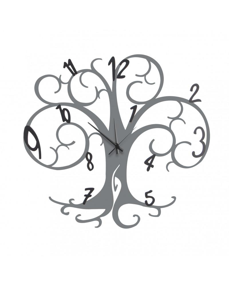 orologio da parete albero della vita colore ghisa