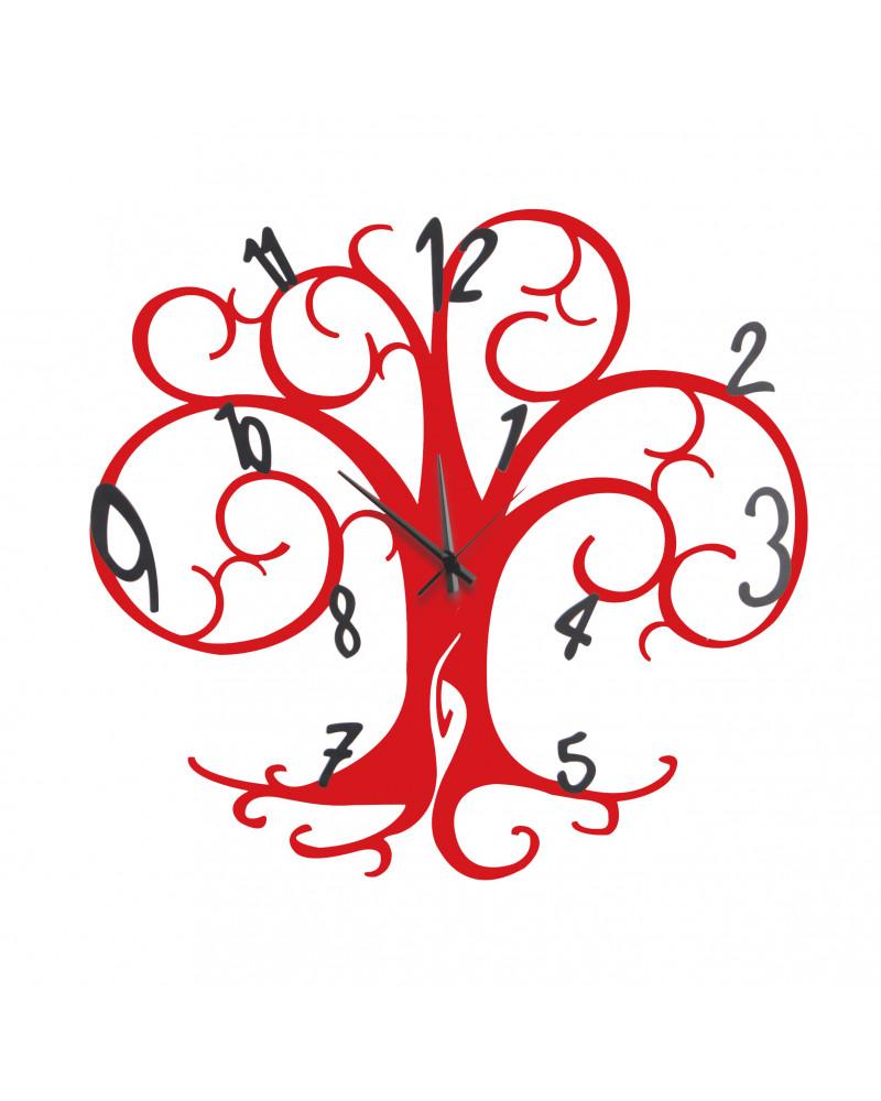 orologio da parete albero della vita colore bianco