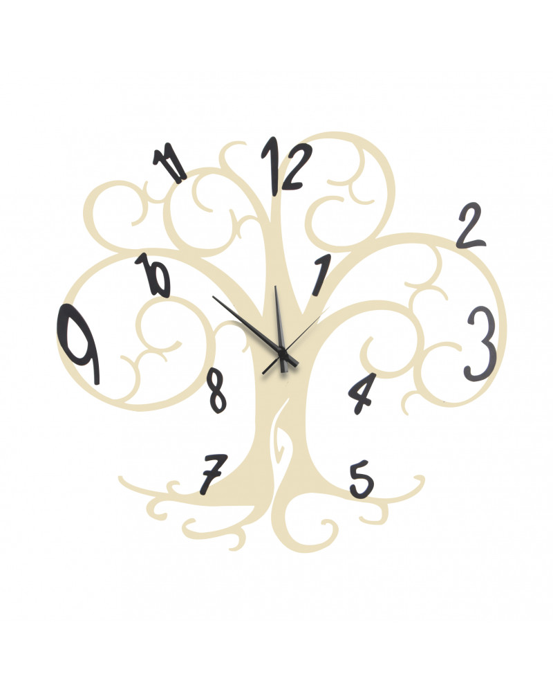 orologio da parete albero della vita colore avorio