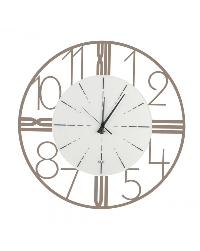 Orologio da parete Astro colore tortora