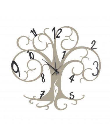 orologio da parete albero della vita colore tortora