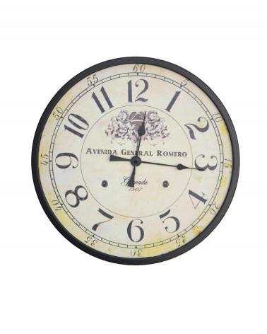 orologio da parete vintage Avenida General Romero 60 cm
