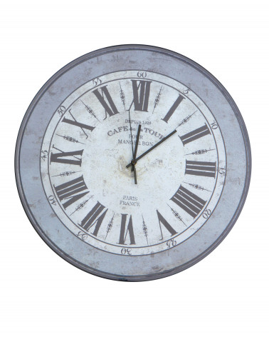 orologio da parete vintage Cafe de la Tour 60 cm