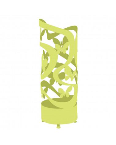 portaombrelli design farfalle colore verde mela