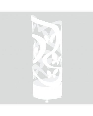 portaombrelli design farfalle colore bianco