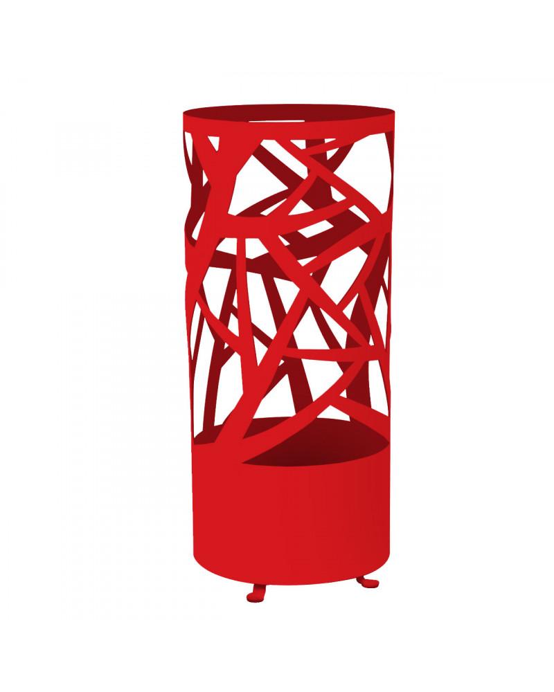 portaombrelli design autunno colore rosso