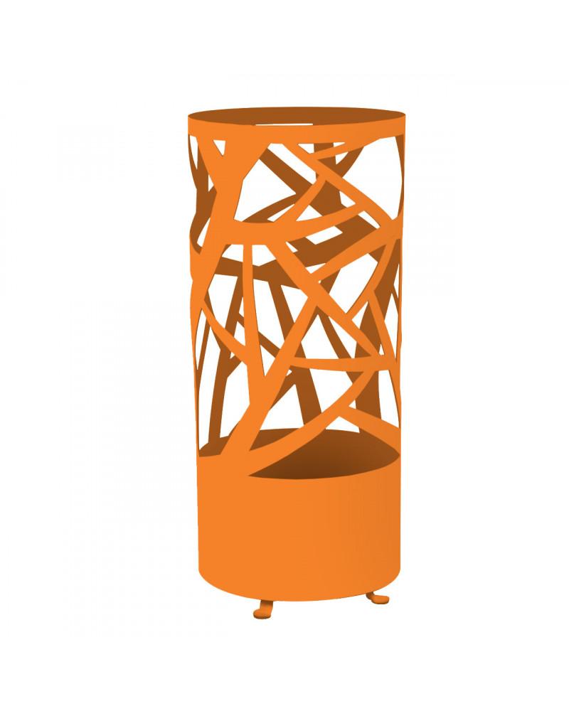 portaombrelli design autunno colore arancio