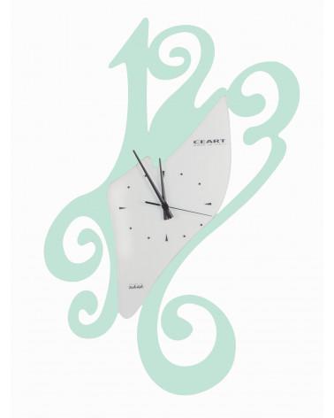 Orologio da parete particolare Sissi colore tiffany