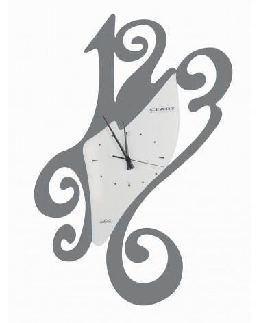 Orologio da parete particolare Sissi colore ghisa