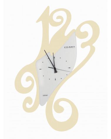 Orologio da parete particolare Sissi colore avorio