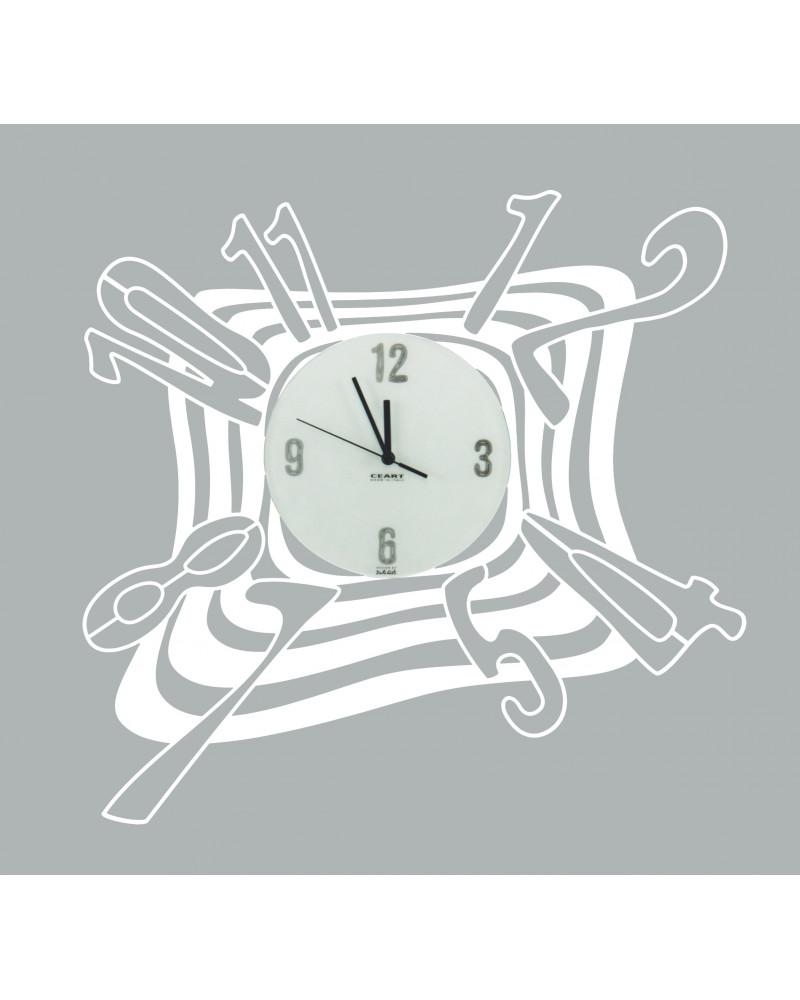 Orologio da parete particolare Scirocco colore bianco