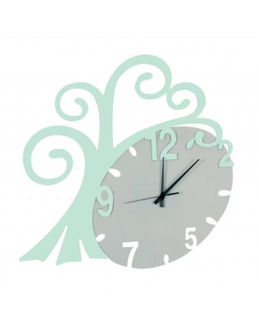 nuovo orologio da parete Albero vita colore tiffany