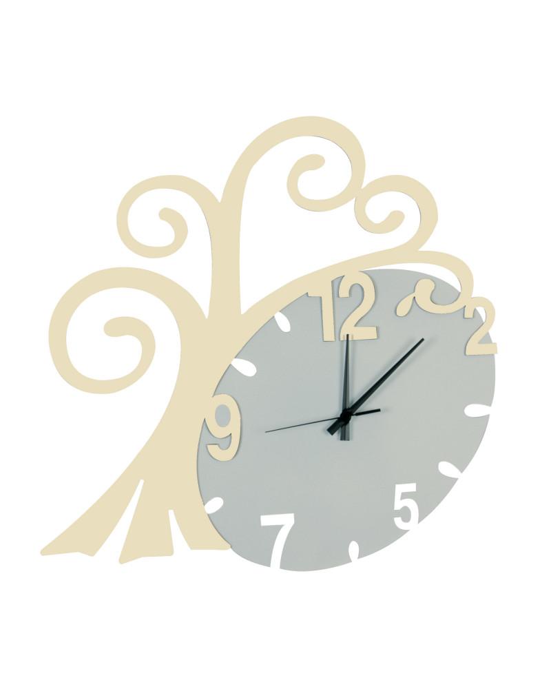 nuovo orologio da parete Albero vita colore avorio