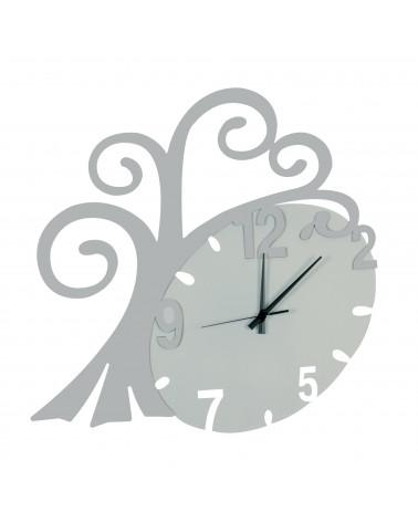 nuovo orologio da parete Albero vita colore argento