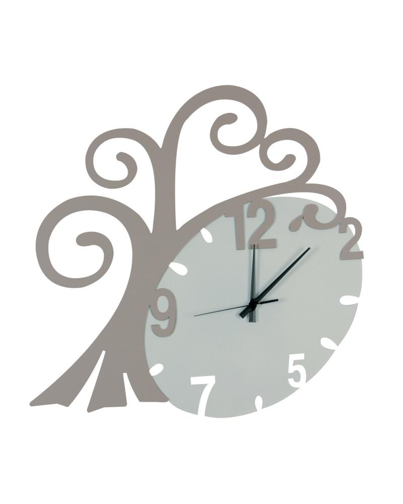 nuovo orologio da parete Albero vita colore tortora