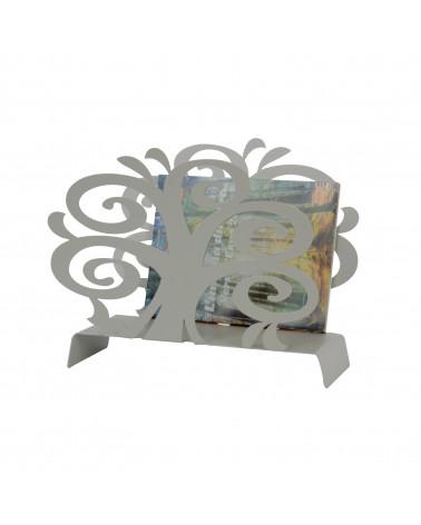 Portariviste design moderno Albero della Vita colore tortora