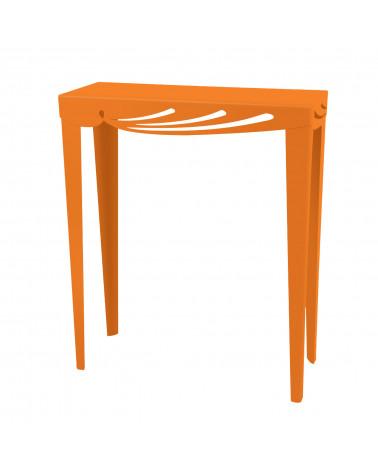 consolle ingresso design moderno colore arancio