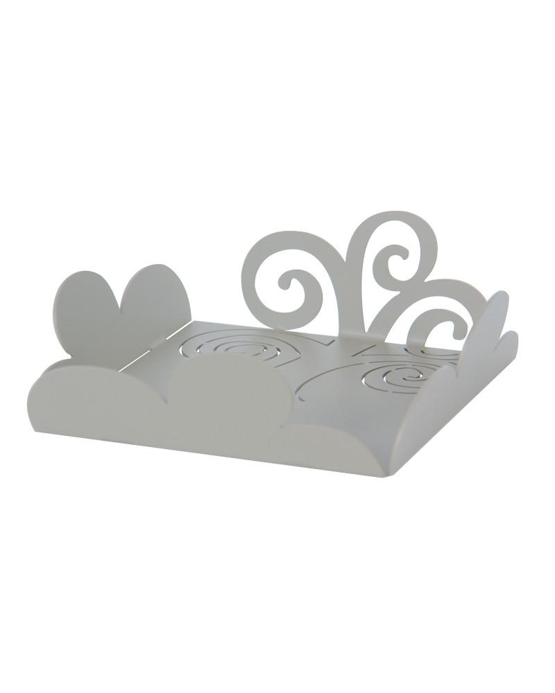 Svuotatasche design moderno Albero della Vita colore tortora
