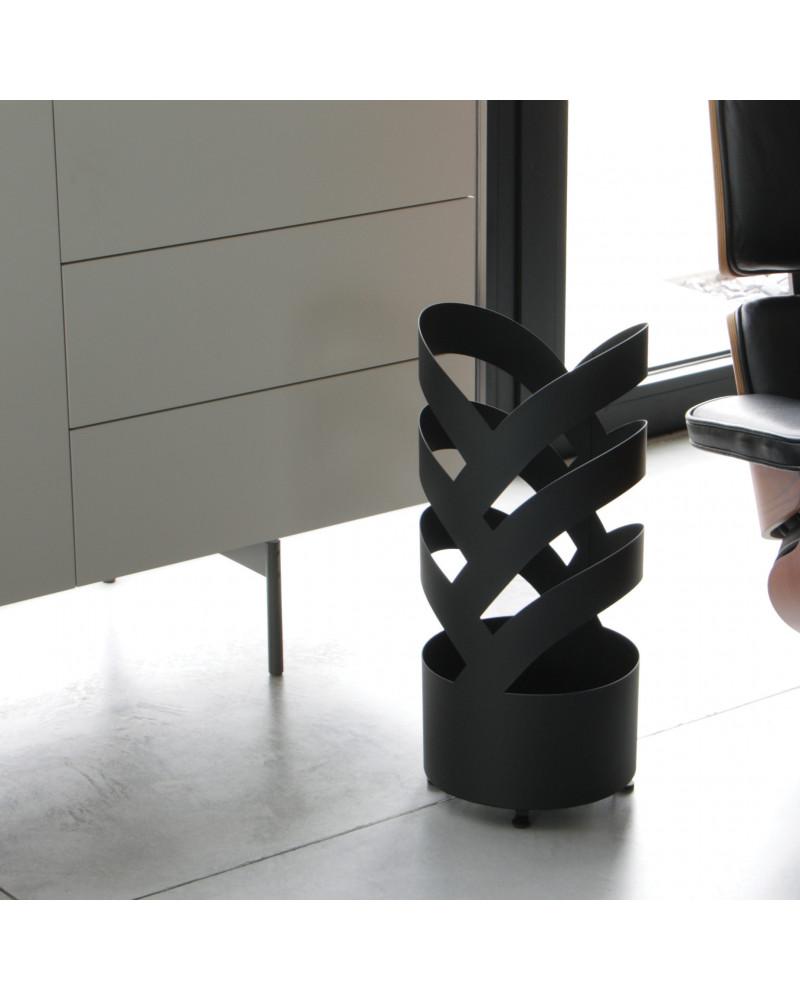 Portaombrelli design in metallo Archi colore nero