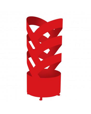 Portaombrelli design in metallo Archi colore rosso