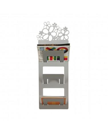 Portariviste da parete Primavera in metallo design moderno