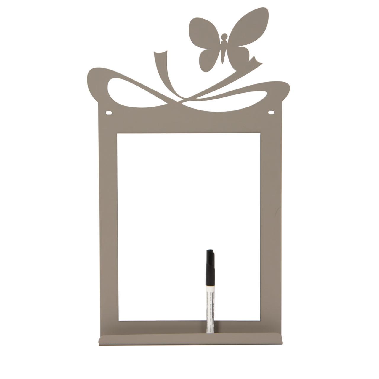 Lavagna Da Parete Cucina lavagna farfalla con pennarello