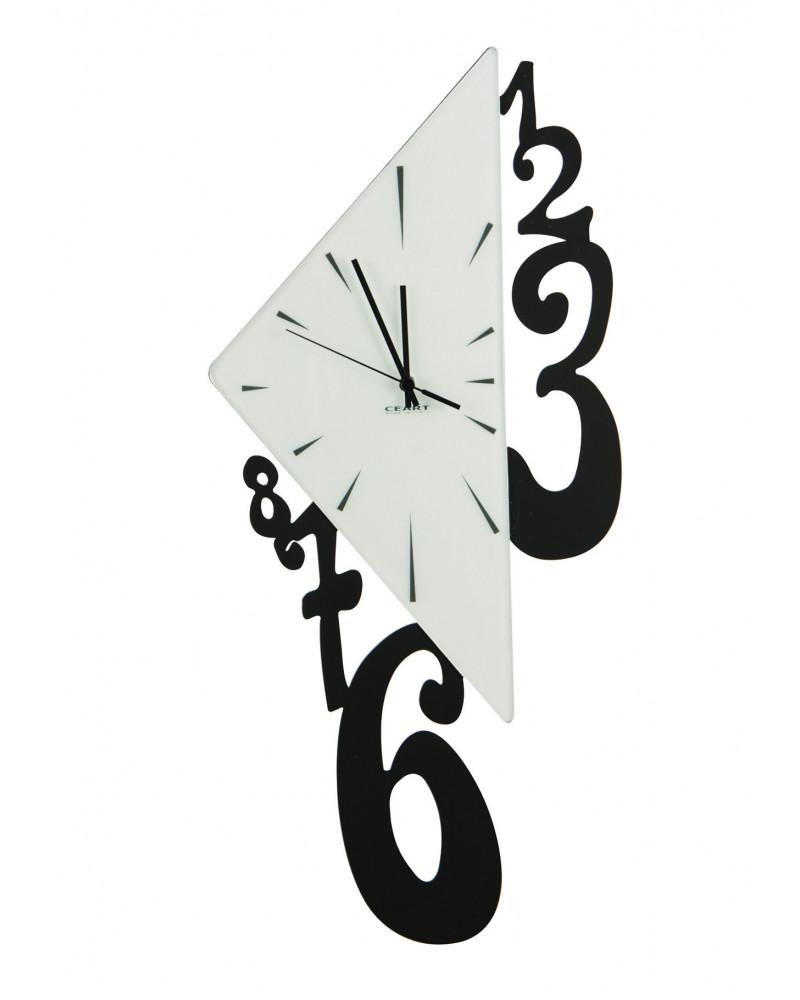 Orologio da parete Triangolo colore nero
