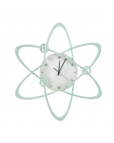orologio da parete Atomo colore tiffany