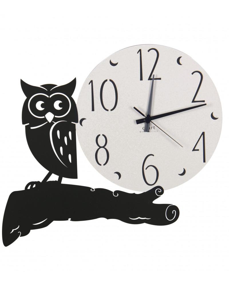 Orologio da parete moderno design Gufo