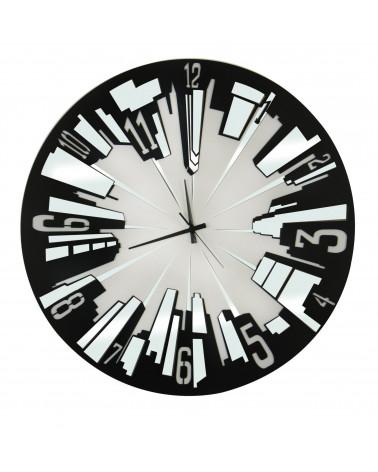 orologio da parete moderno in metallo Palazzi disponibile in vari colori
