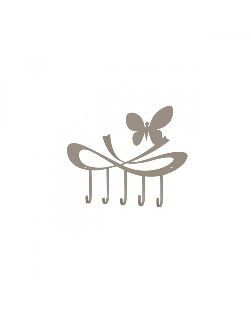 Appendiabiti Da Parete Farfalle.Portachiave Da Parete Farfalle