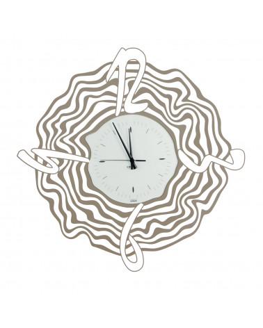 orologio da parete Maestrale colore tortora