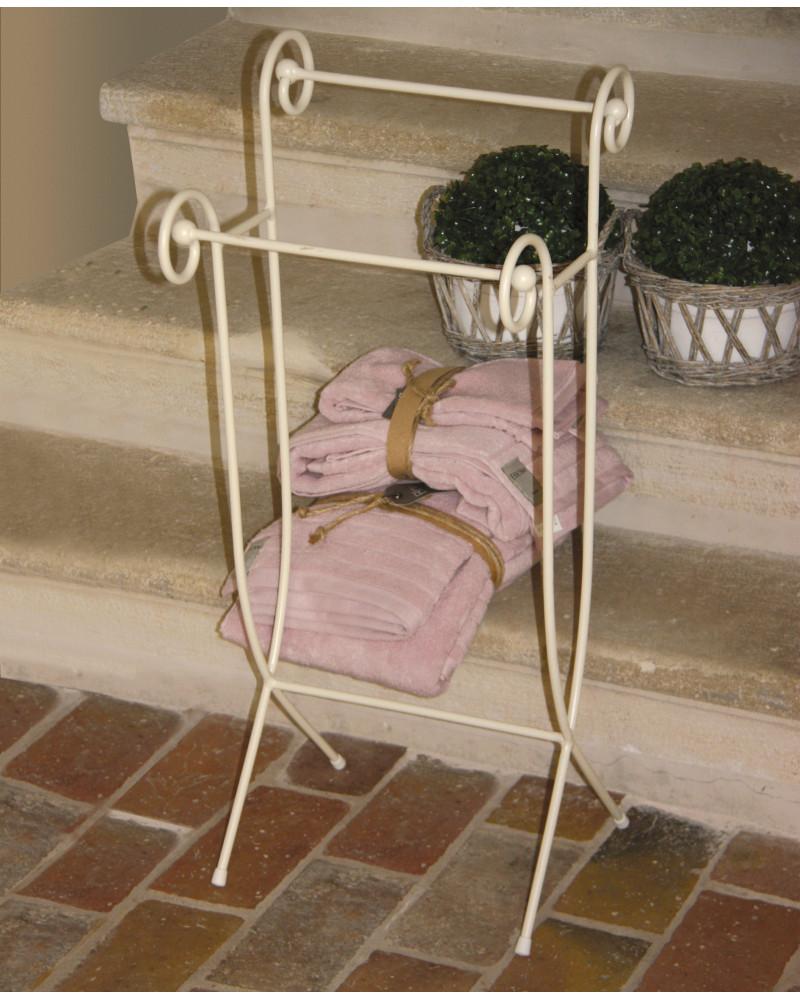 porta asciugamani in ferro battuto modello leone