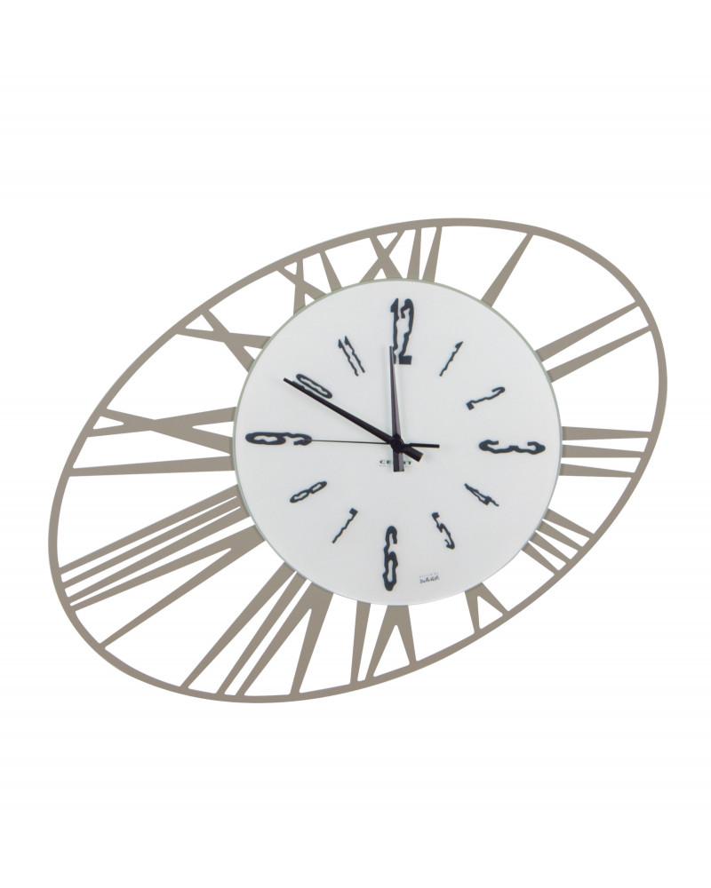 Orologio da parete moderno Ovalizzato